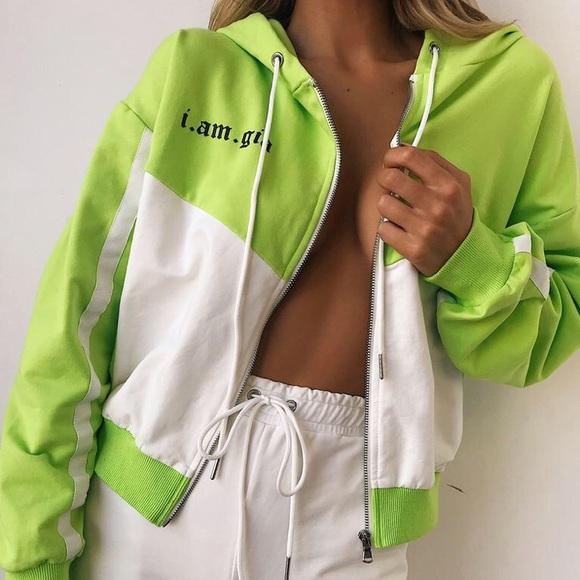 f7fdf769cd3 I am Gia chyna tracksuit jacket and pants